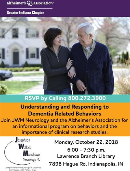 Alzheimers Event Oct 22