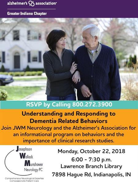 Alzheimers Event Oct 22