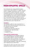 Non-Epileptic Seizures brochure