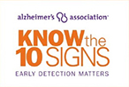 Know the 10 signs of Alzheimer's